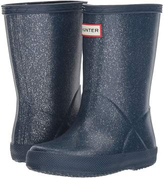 Hunter First Glitter Rain Boot Kids Shoes