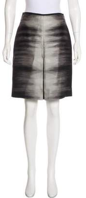BCBGMAXAZRIA Wool & Silk- Blend Skirt