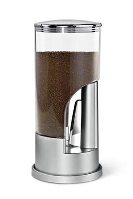 Honey-Can-Do 1/2 lb. Ground Coffee Dispenser, Multicolor