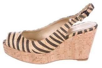 Stuart Weitzman Jean Wedge Sandals