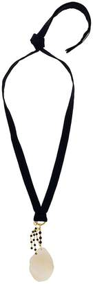 Marni iridescent pendant necklace