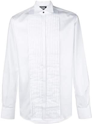 Karl Lagerfeld Paris Sebastien Tuxedo shirt