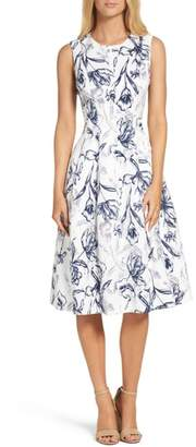 Eliza J Fit & Flare Dress