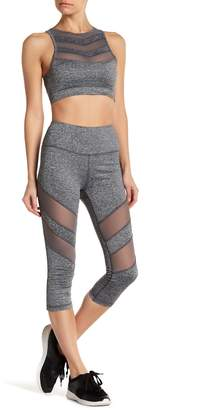 C&C California Trop Mesh Panel Leggings