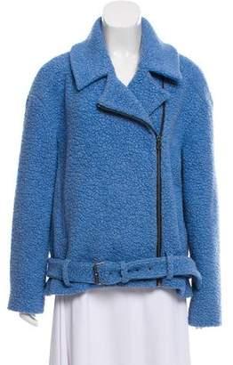 Tibi Wool Moto Jacket