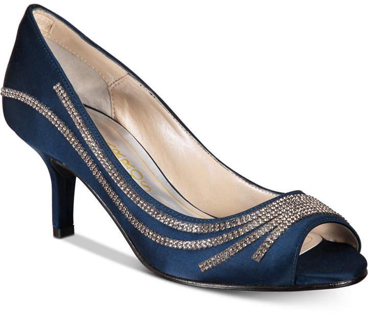 Caparros Oz Peep-Toe Evening Pumps Women's Shoes