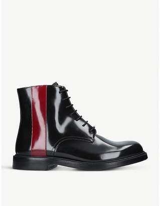 Calvin Klein Collection Hova leather boot
