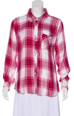 Rails Long Sleeve Button-Up Top