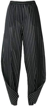 Humanoid striped twisted trousers