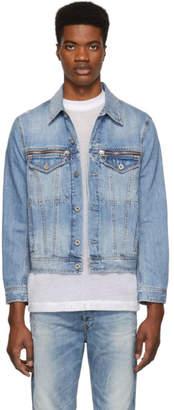 Diesel Blue Denim D-Roy Jacket