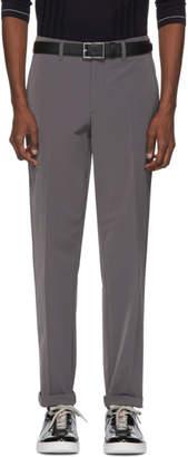 Prada Grey Stretch Tech Trousers