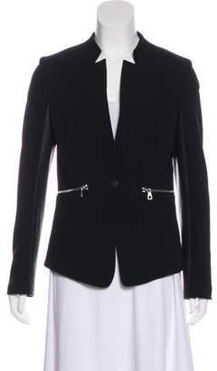 Rag & Bone Leather-Trim Casual Jacket