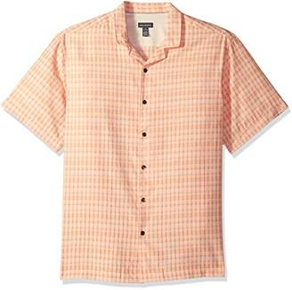 Van Heusen Men's Air Pucker Texture Short Sleeve Shirt