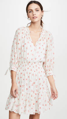 Rebecca Taylor Long Sleeve Maui Clip Dress
