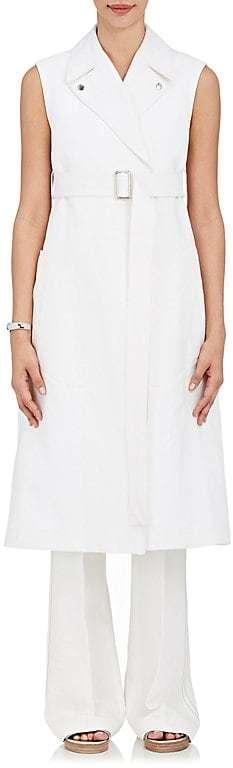 Calvin Klein Women's Piqué Linen-Cotton Belted Vest