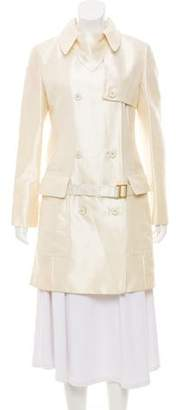 Gianfranco Ferre Double-Breasted Trench Coat w/ Tags