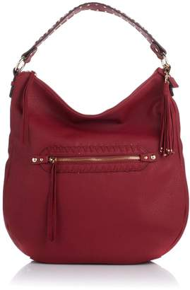 Jessica Simpson Angie Top Zip Hobo Shoulder Bag