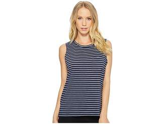 Nautica Striped Tank Top Women's Sleeveless