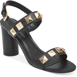Marc Fisher Panna Studded City Sandals Women's Shoes
