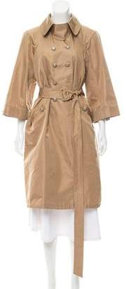 Valentino Double-Breasted Trench Coat