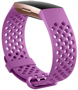 Fitbit Charge 3 Unisex Pink Watch Band-Fb168sblvl