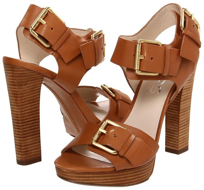 KORS Chilali (Dark Tan Vachetta) - Footwear
