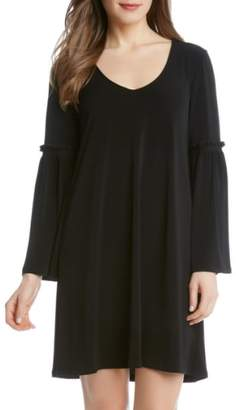 Karen Kane Bell Sleeve A-Line Dress