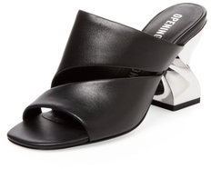 Opening Ceremony Dinero Cut-Out Leather Mule
