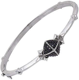 Stephen Webster Silver & Rhodium 0.68 Ct. Tw. Sapphire Bracelet