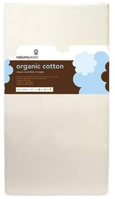 Naturepedic '150' Seamless Organic Cotton 2-Stage Crib Mattress