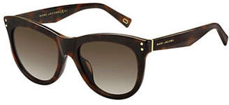 Marc Jacobs 118-S 54mm Tortoise Oversized Sunglasses
