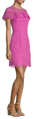 Trina Turk Copper Ruffle Dress