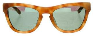 Westward Leaning Westward\\Leaning Matte Reflective Sunglasses