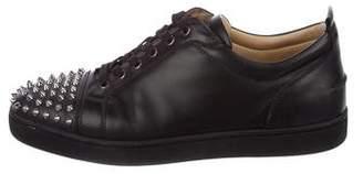 Christian Louboutin Louis Junior Flat Spike Sneakers