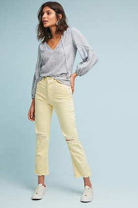 Mother The Tomcat High-Rise Straight Jeans