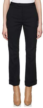 Maison Margiela Women's Crop Cuffed Trousers