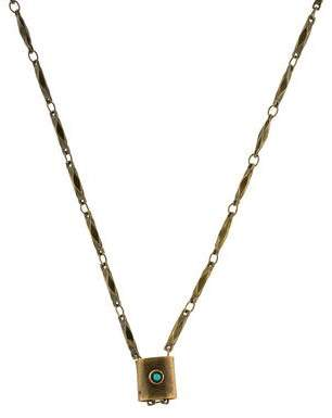 Isabel Marant Resin Pendant Necklace