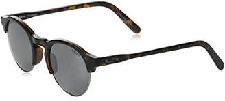 Revo Re 1066 Reign Polarized Round Sunglasses