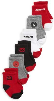 Nike 6-Pack Jordan Legend Quarter Socks
