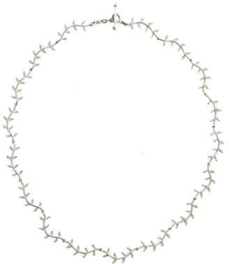 Cathy Waterman Women's Curvy Wheat Necklace