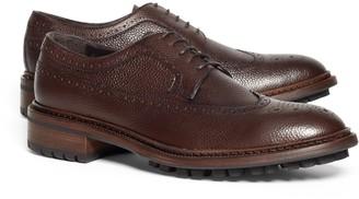 Brooks Brothers Pebble Leather Wingtips