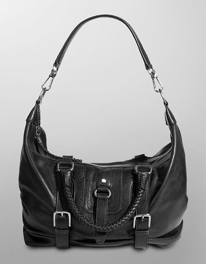 The Sak Silverlake Convertible Leather Satchel