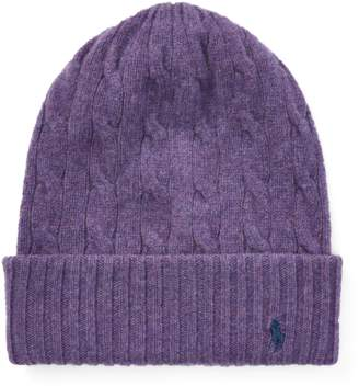 Polo Ralph Lauren Cable Cashmere-Wool Hat