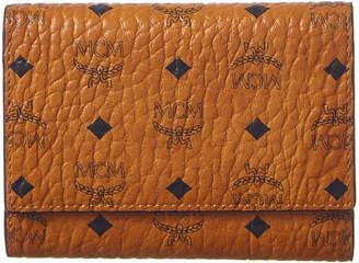 MCM Small Original Visetos Three Fold Wallet