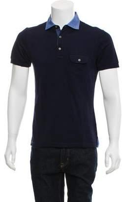 Pal Zileri Short-Sleeve Polo Shirt