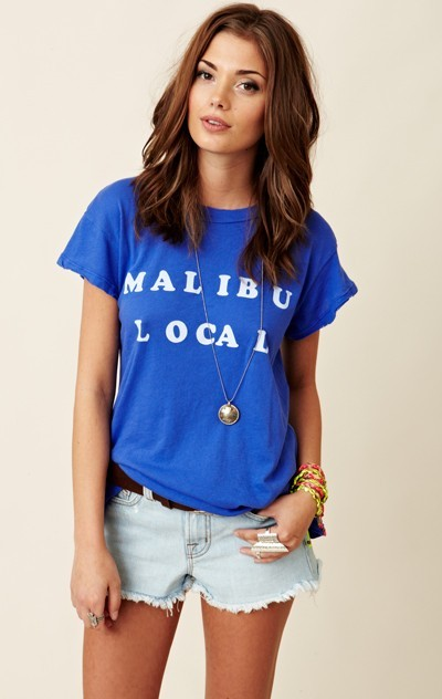 wildfox Malibu Local Desert Crew