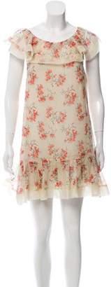 RED Valentino Printed Mini Dress