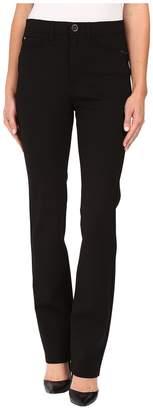 FDJ French Dressing Jeans PDR Wonderwaist Suzanne Straight Leg in Black Women's Jeans
