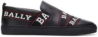 Bally logo stripe sneakers