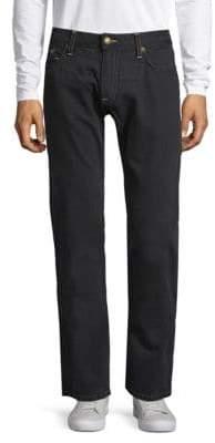 Patch Cotton Jeans